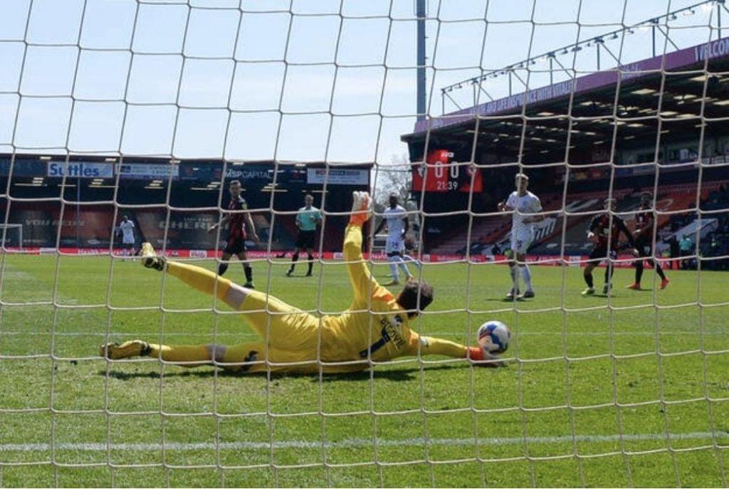 Begovic save vs Brentford