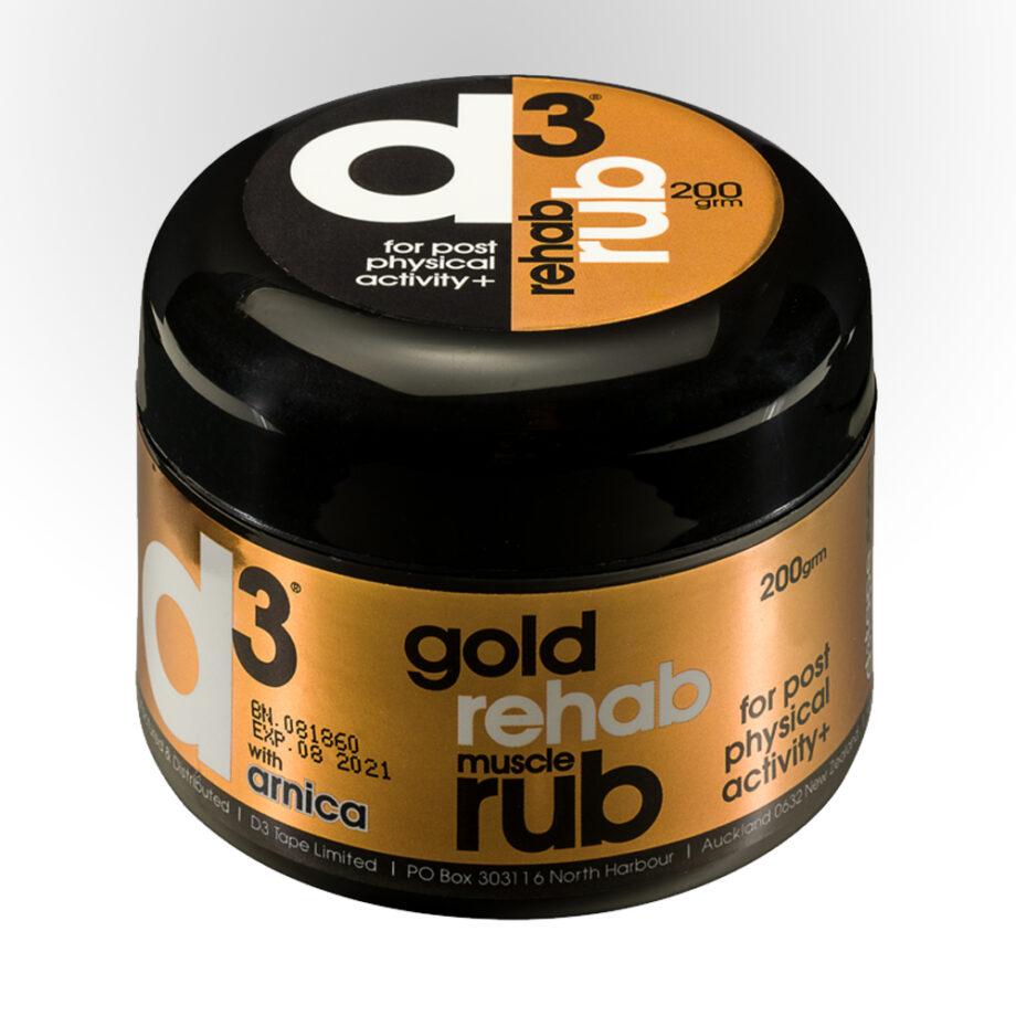 gold rub